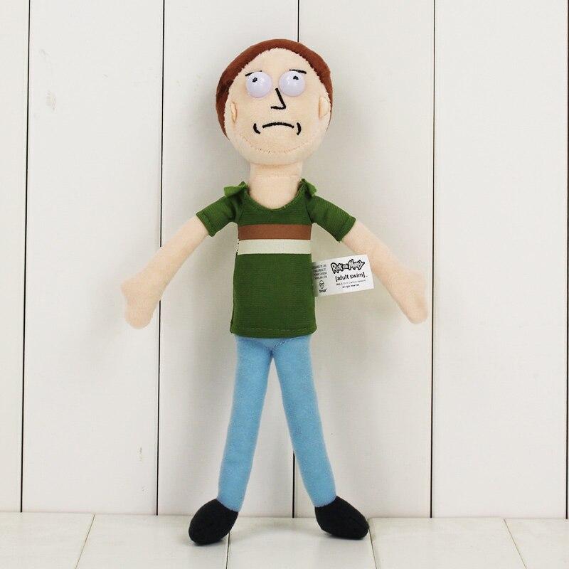 Рик и Морти плюшевые игрушки Sanchez Smith Mr Meeseeks Jerry Summer poopybuttole счастливый сад учёный мягкие куклы - Цвет: F