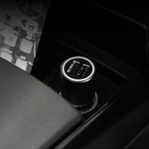 "Image 5 - Xiaomi המקורי QC 3.0 USB הכפול טעינה מהירה מקס 5V 3A 36w עבור iPhone סמסונג Huawei oppo vivo USB C רכב מטען פ""ד"
