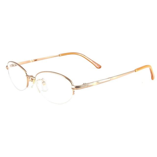 Reven Optical Eyeglasses Frame WB3291 Semi-Rimless Ally Eye Glasses For Women Prescription Eyewear