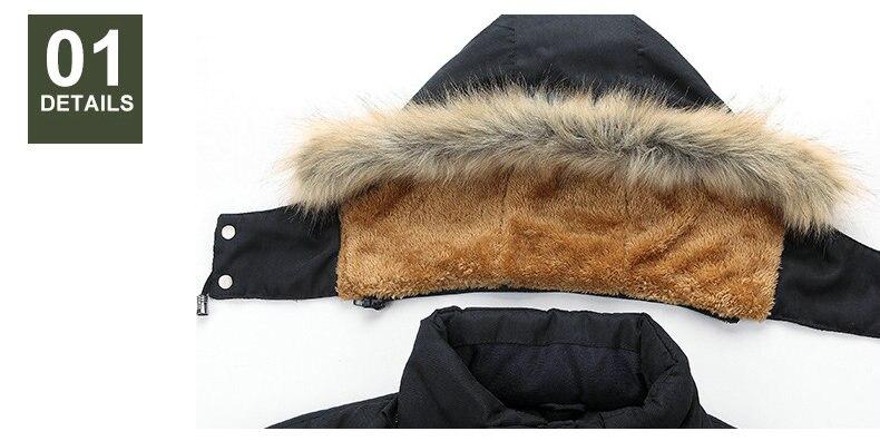 Thick Warm Parka Men New Hot Long Winter Jacket Men Hooded Military Cargo Mens Winter Coat Plus Size M-5XL 14