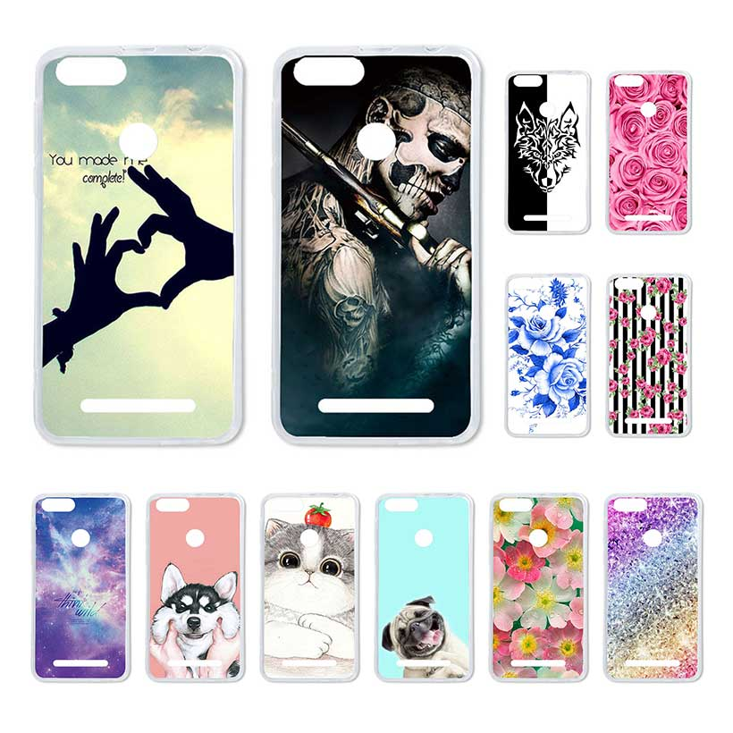 Bolomboy Painted Case For Leagoo KIICAA Power Case Silicone Soft TPU For Leagoo KIICAA Power Cover Coque Flamingo Spiderman Bags