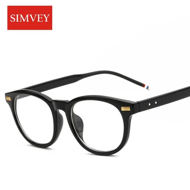 3801805a3e Simvey Fashion Cat Eye Glasses Frames Retro Brand Designer Women Eyeglass  Frames Vintage Glasses Clear Lens