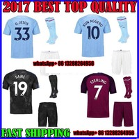 He 2017 2018 Thai AAA Patch Best Quality Adult Shirts Manchesteer CITYS Size 17 18 Home
