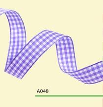 0.75″ Inch 1.8cm tartan ribbon