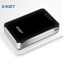 EAGET A86 1TB Wireless USB 3.0 High-Speed External Hard Disk Drives HDD 3G Router 3000mA Polymer Mobile Phone Power Bank