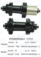 Powerway CT31  hub weight 428