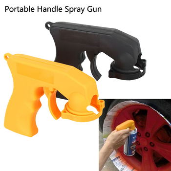 Spray Adaptor Paint Care Aerosol Spray Gun Handle with Full Grip Trigger Locking Collar Car Maintenance Car Styling Accessories Hand Tool Sets