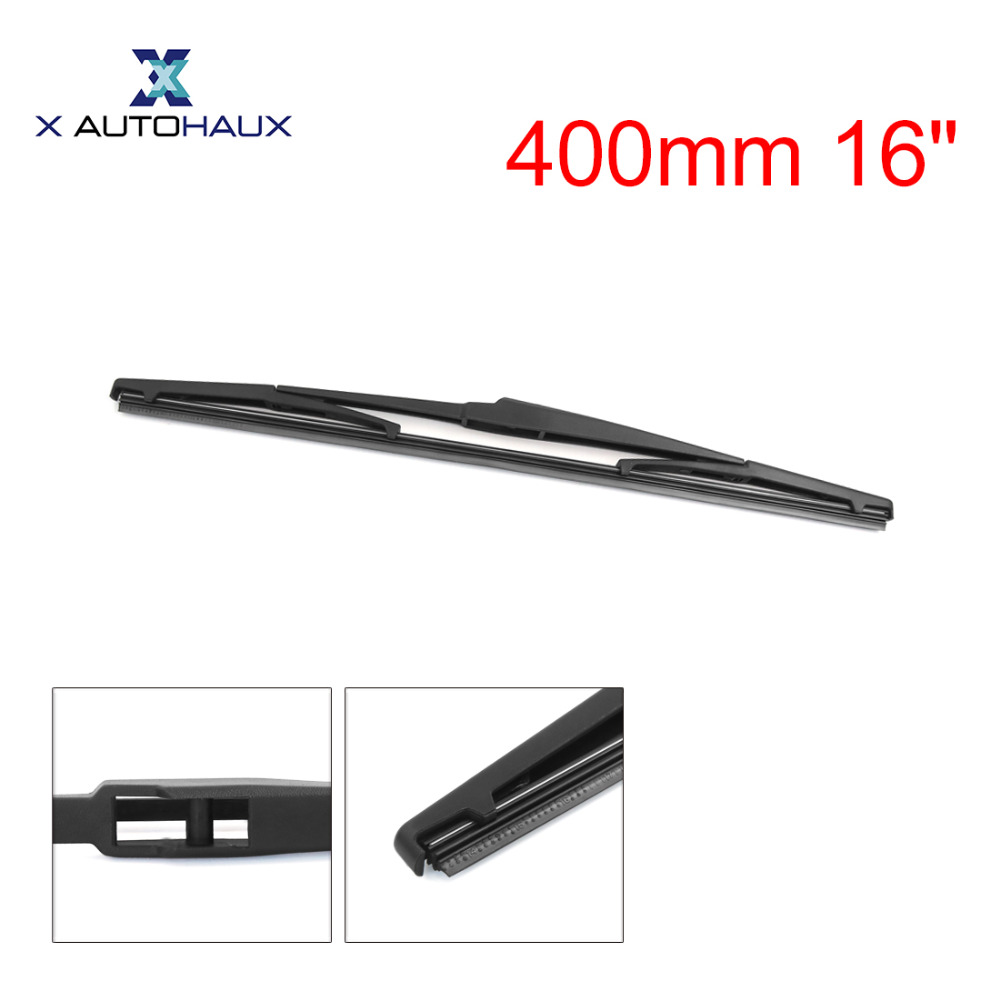 X AUTOHAUX 400mm 16 Rear Window Windshield Car Wiper Blade For Toyota Alphard For Sienna 2011 To 2016 For Lexus RX 2008 TO 2016