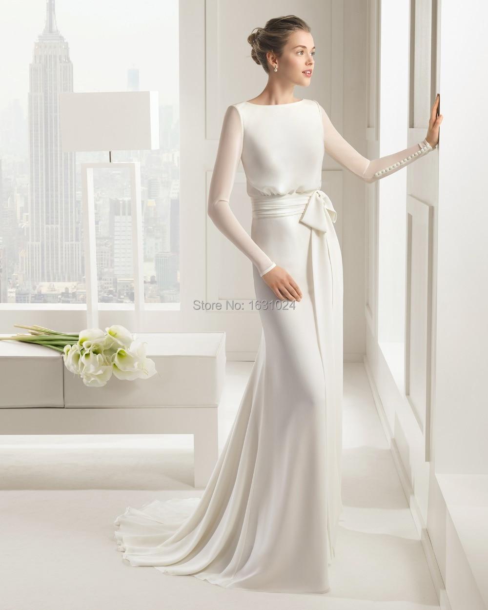 beautiful simple wedding dresses simple wedding dress Simple Beautiful Wedding Dresses Naf