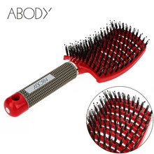 Abody Hair Brush Scalp Hairbrush Comb Professional Women tangle Hairdressing Supplies brushes Tools hair combs for drop shipping