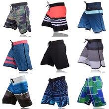 VANCHYCE Short dété pour hommes, tenue de plage, Bermuda court, séchage rapide, argent, collection maillot de bain de marque