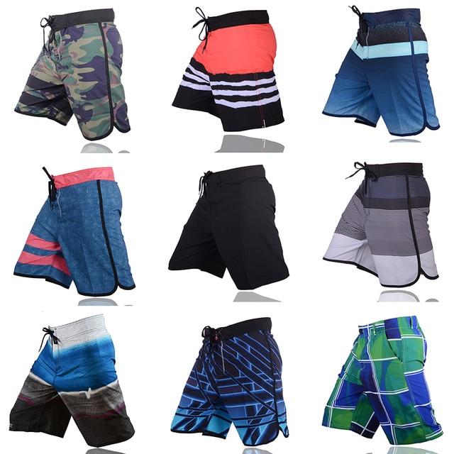 VANCHYCE Verão Shorts Men Board Shorts Marca Homens Swimwear Calções de Praia Homens Curtos Bermuda Quick Dry Boardshorts Dos Homens de Prata