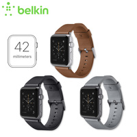 New Arrival Belkin Original Classic Italian Leather Strap Band For Apple Watch 42mm With Retail Package