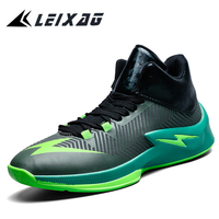 LEIXAG Mens Basketball Sneakers High Top Basketball Shoes For Men Outdoor Shoes Training Men Leather Basketball