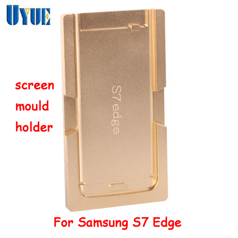 цена на UYUE  machine mould refurbish For Samsung S7 Edge Metal aluminum LCD touch screen mold