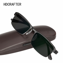 HDCRAFTER Titanium Alloy Photochromic Reading Glasses for Men Hyperopia Presbyopia with diopters Presbyopia Glasses Sunglasses
