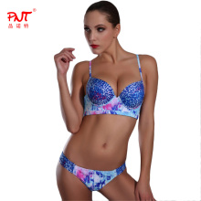 PNT183 Bikini 2017 Sexy Beach Swimwear Leopard Biquinis Custom Push Up Bathing Suit Micro Bikini Set Women's Swimwear Swimsuit