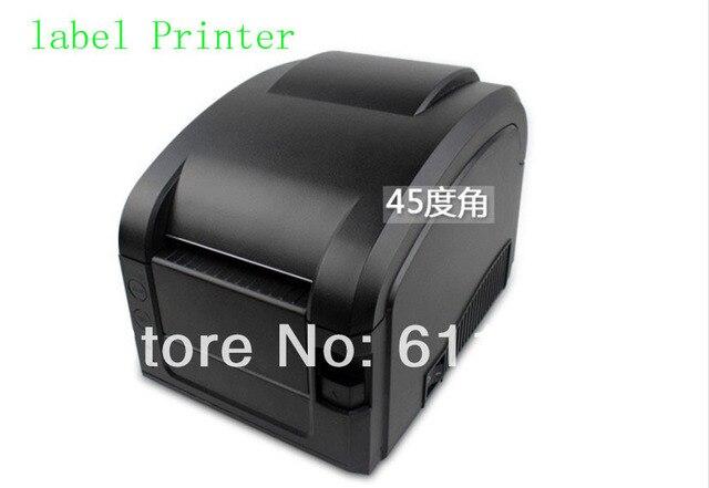 Бесплатно по DHL 1 ШТ. Прямая Термопечать Линия 3 ~ 5 Дюймов/Sec USB порт Штрих Принтер Этикеток, термальный принтер штрих-кода