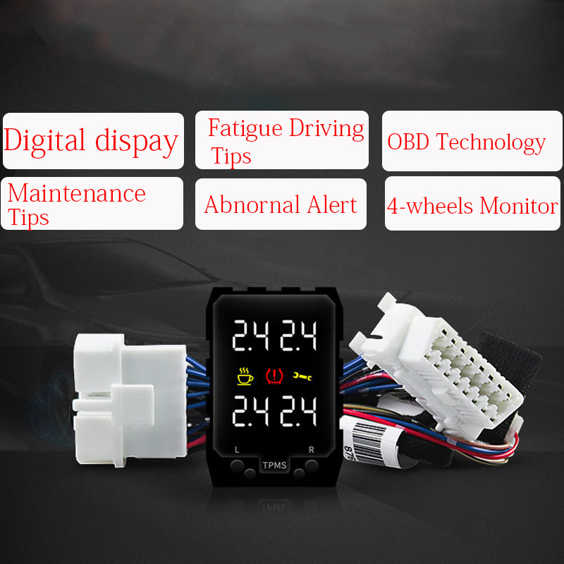 Tire Pressure Monitor Systems OBD TPMS Embedded Monitorig For Toyota RAV4 08-19 C-HR 2017 2018