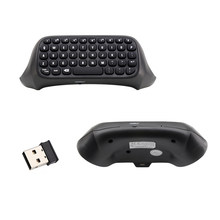10 Pcs 2.4G Mini Wireless Keyboard Chatpad Pesan untuk Xbox One Controller Keyboard Gaming Gamepad Keyboard(China)