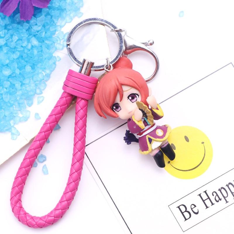 NEW 9pcs Anime Love Live!Kotori Minami Kosaka Honoka Q Version PVC Figure Model