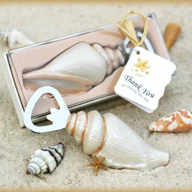 Wholesale 100pcslot Wedding Favors Gifts Beach Sea Shell Bottle