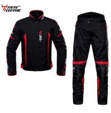 купить MOTOCENTRIC Motorcycle Jacket Men+Moto Pants Body Armor Waterproof Riding Racing Jaqueta Chaqueta Moto Jacket Motorcycle по цене 3862.28 рублей