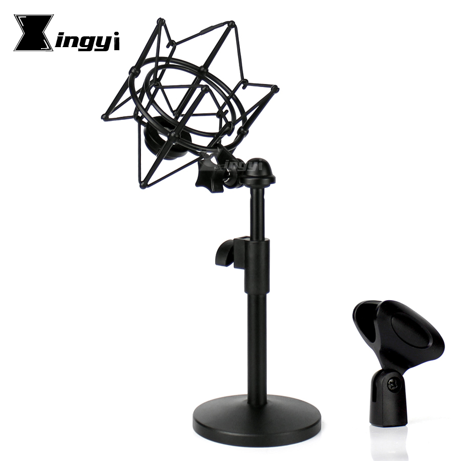 Metal Spider Microphone Shock Mount Mic Clip Desktop Stand Shockmount For RODE Podcaster Procaster NT1 NT1000 NT2000 K2 NTK NTR