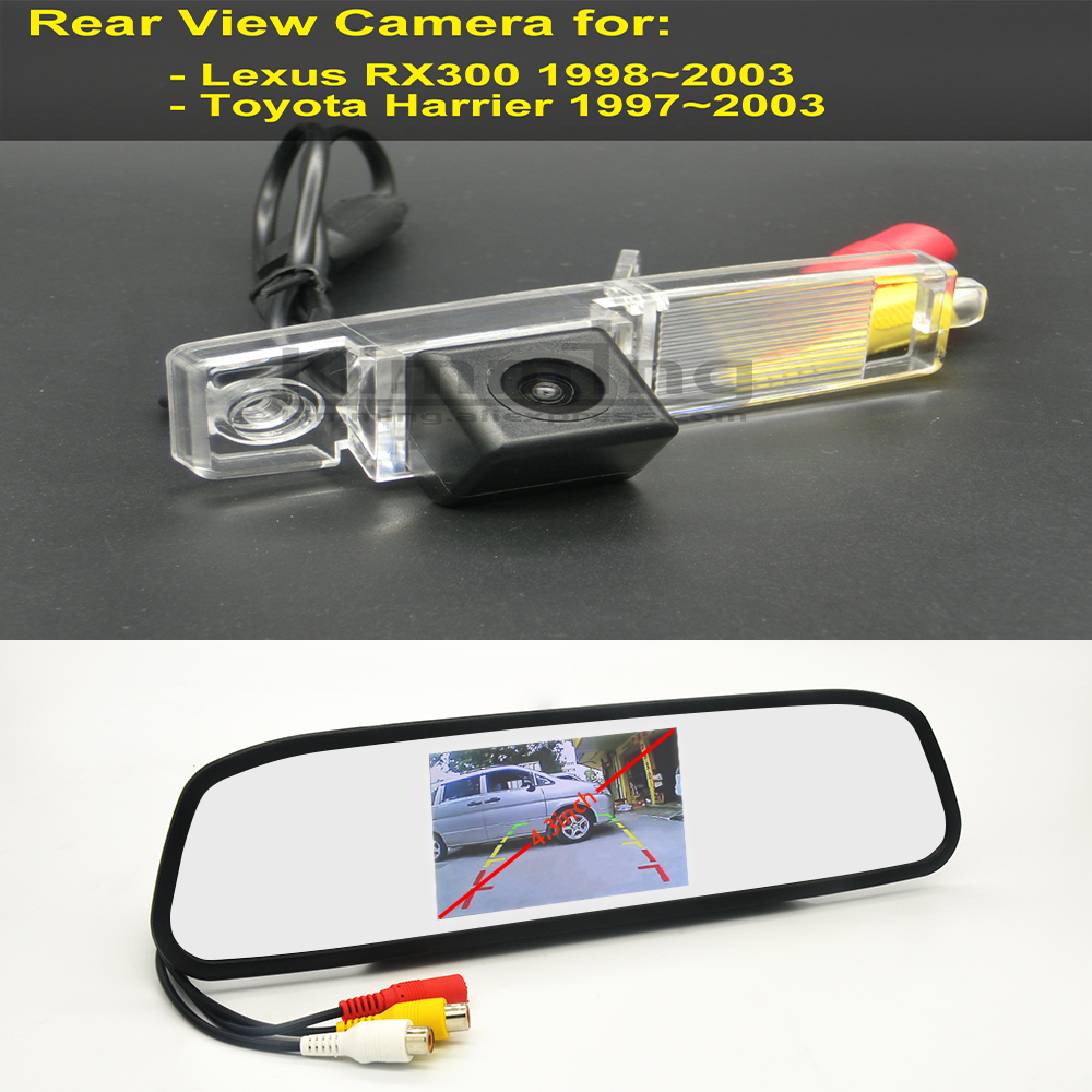Car Rear View Backup Reverse Camera For Toyota Harrier Lexus RX 300 1997~2003