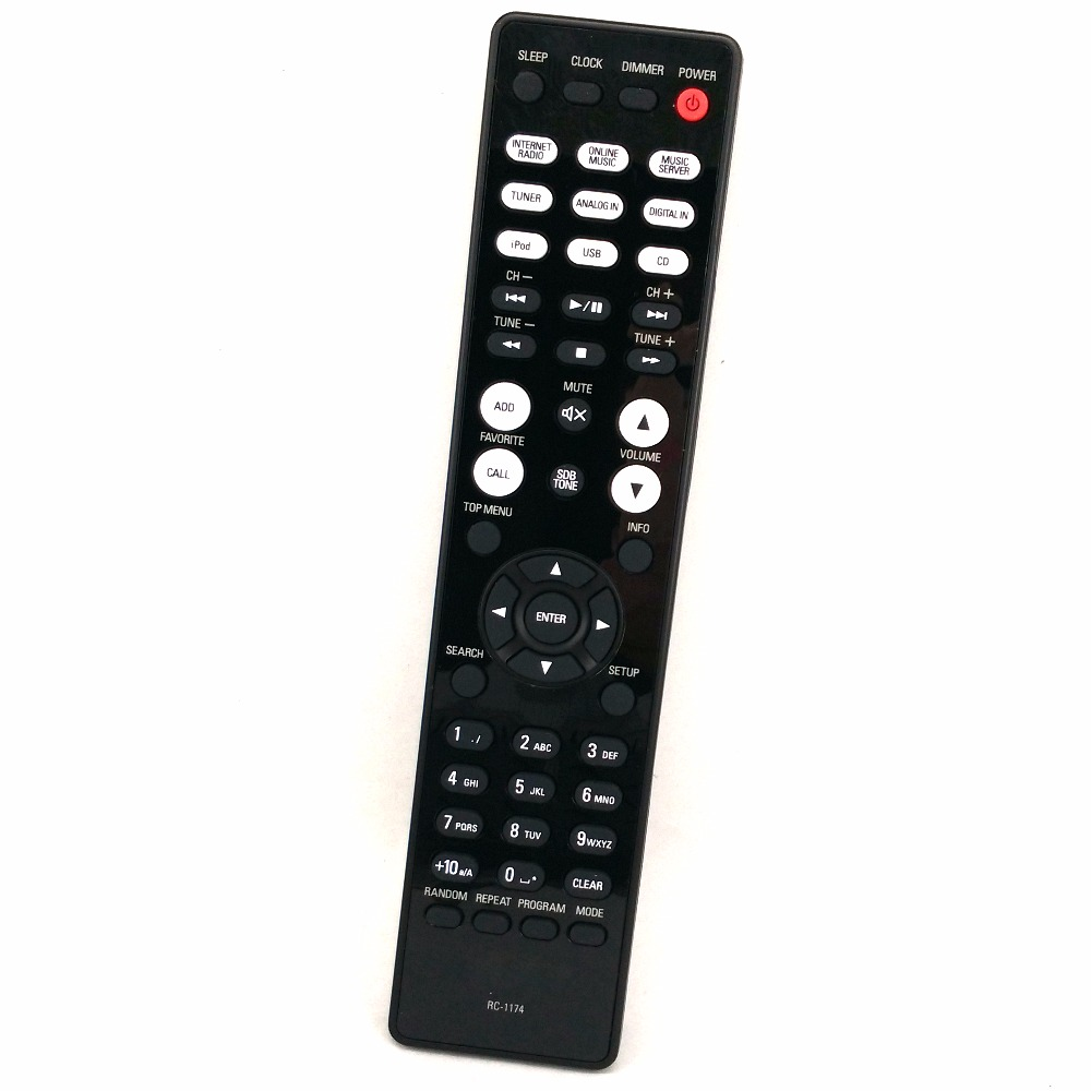 все цены на Original Remote RC-1174 For DENON RCD-N8K RCD-N9 NETWORK CD RECEIVER AUDIO PLAYER Controle remoto онлайн