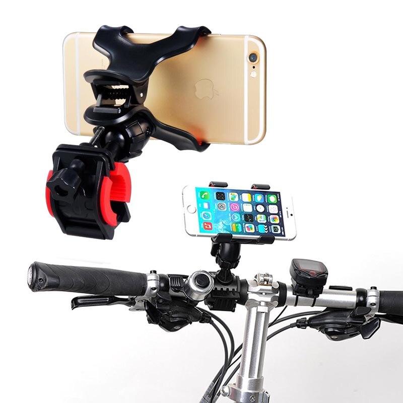 Держатель телефона велосипед мобильный смартфон аксессуар 360 Вращающийся мотоцикла Руль Клип Стенд кронштейн для MOTO G4 G5