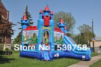 Factory direct inflatable jump bed, inflatable toys, inflatable slide.Inflatable Fun City