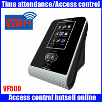 Wireless Connection Facial Time Attendance ZK software VF500 VF700 Face IDcard WIFI Employee Time Clock With Double Cameras
