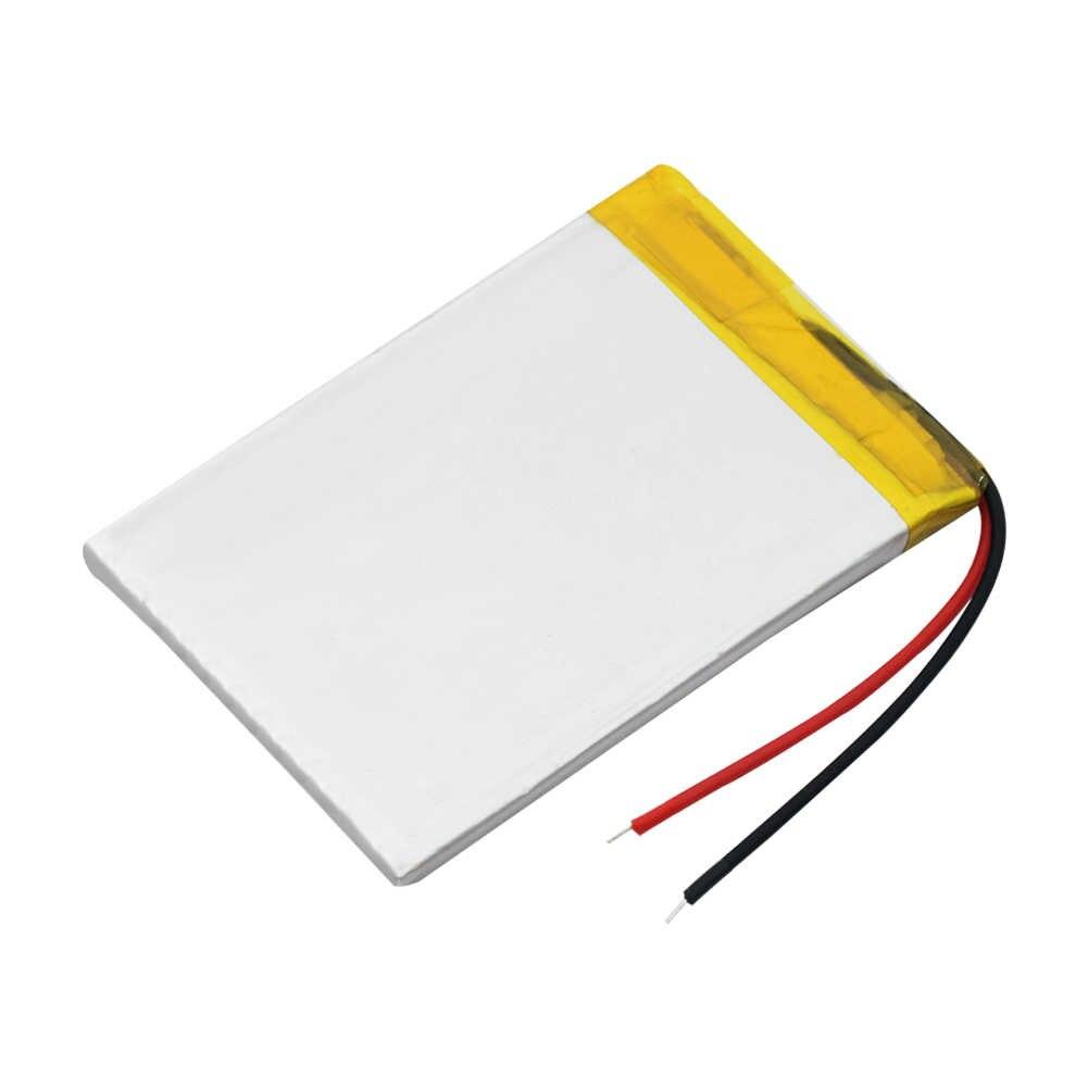 Перезаряжаемые 3,7 V 1000 мА/ч, 383759 Батарея литий-полимерный Li-Po Li ion LiPo Клетки для gps MP3 MP4 Портативный dvd, динамик