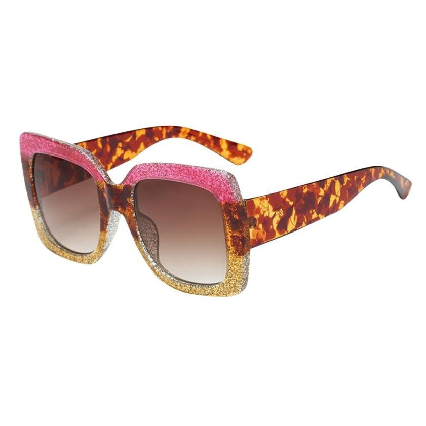 #5 NEW Oversized Square Luxury Sunglasses Gradient Lens Vintage Women Fashion