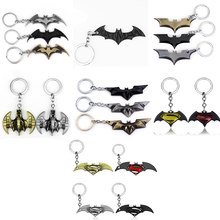 18 estilos DC joyería superhéroe Batman llavero Batman abrebotellas colgante Superman llavero cómic figura accesorios llavero(China)