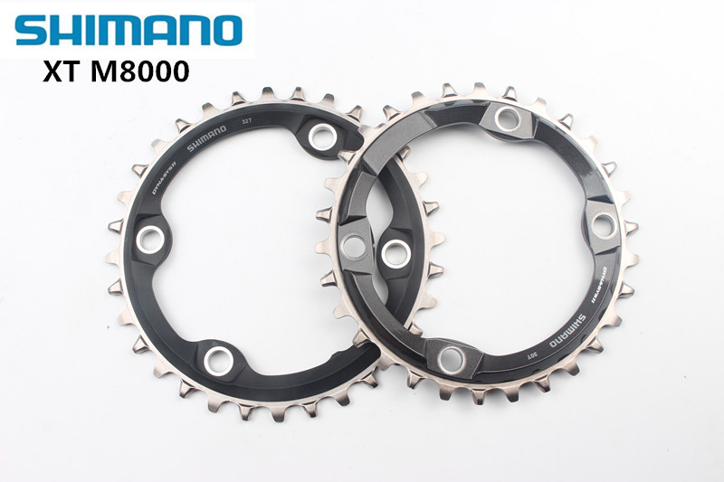 New Shimano XT SM-CRM81 CRM80 M8000 Chain ring Crank Chainring 30T 32T 34T