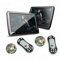 XTRONS 10.1 inch Portable screen High resolution 1024*600 TFT HD Screen HDMI headrest car dvd player Monitor IR/FM transmitter