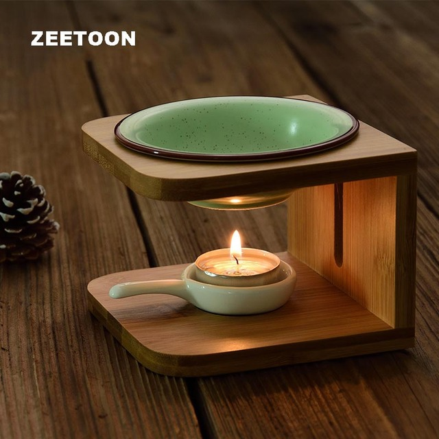 Creative Incense Burner Aroma Lamps Essential Oil Stove Candle Heater Heating Yoga Censer / Home Night Light Decor Crafts Gifts