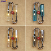 Эдисон бра Ретро крепления настенного светильника креативный в стиле лофт промышленный винтажный настенный светильник лампе водопровод л
