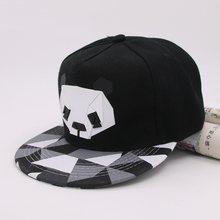 2c501c97b 2018 Summer New Cartoon panda Adjustable Baseball Caps Snapback Hats For  youth Men Women Fashion animal Cap Hip Hop Sun Bone Hat