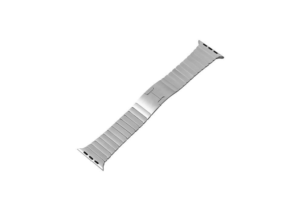 Длина Регулируемая Нержавеющей Стали Смотреть Группы для iwatch Металлический Ремешок для Apple Watch band 38 мм 42 мм Браслет Ссылку
