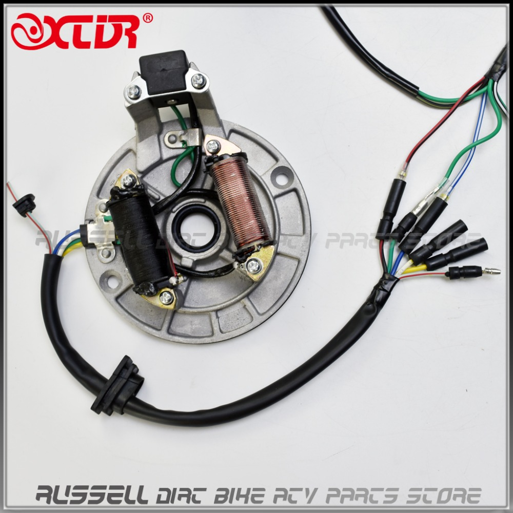Complete Loom Electrics Wiring 50cc 70cc 110cc 125cc Wire Harness Dirt Pit Bike Kill Switch Ignition Coil Cdi Set 110 125 Engine In Atv Parts Accessories From Automobiles Motorcycles On