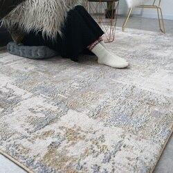 Мягкие хлопковые коврики и ковры для дома, гостиной, в скандинавском стиле, современные прикроватные Коврики для спальни, ковры для детской ...