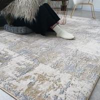 부드러운 목화 양탄자 및 카펫 홈 거실 북유럽 스타일 현대 침대 옆 침실 양탄자 카펫 키즈 룸 복도 층 러너