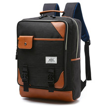 цена на Men Women Usb Charging Canvas Backpacks School Bags For Teenagers Boys Girls Capacity Laptop Backpack Men Backpack boy Bags