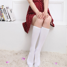 New Arrival Casual Sock Women Knee Long Socks Solid Funny Socks For Girls Compression Socks High Quality