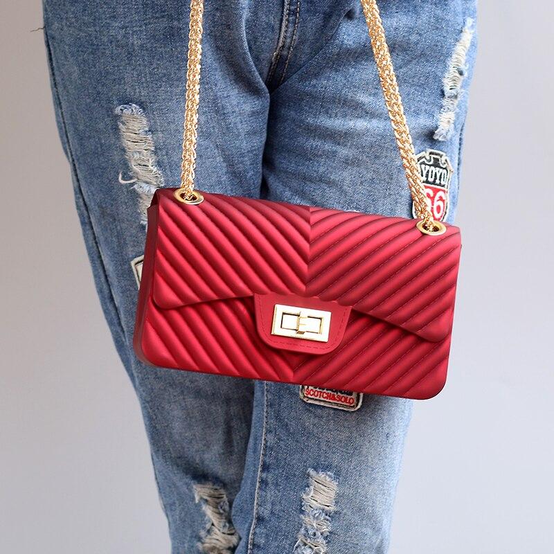 Роскошные Сумки Для женщин сумки дизайнер Винтаж 2018 бренд небольшой женский цепь небольшие Crossbody сумки для Для женщин сумка Messenger
