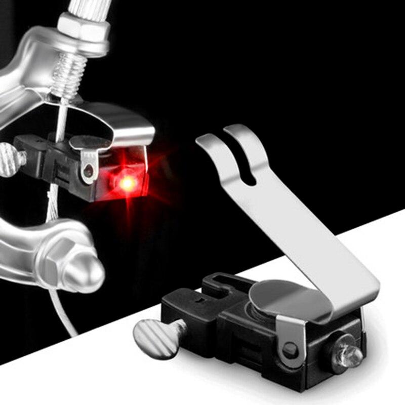 Waterproof Bike Mini Brake Light Mount Taillight Warning Bicycle Rear LED Taillights Tail Brake Lights