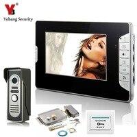 Video Doorbell 7 Inch Color LCD Video Door Phone Doorbell Intercom Night Vision Home Security Kit